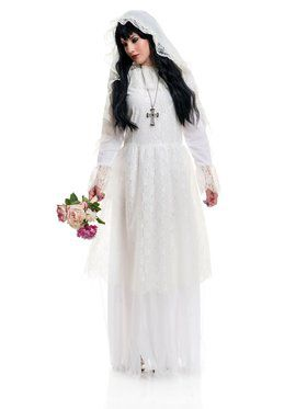 Nightshade Bride Adult Costume