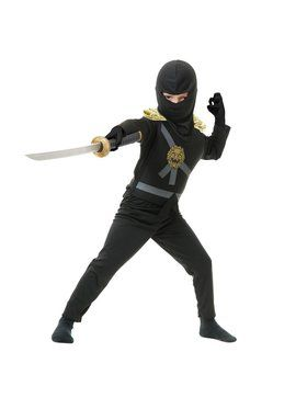 Ninja Avenger Series 1 Child Black