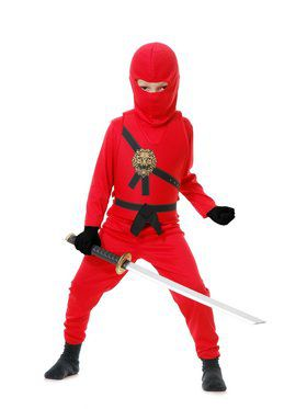 Ninja Avenger Series 1 Child Red