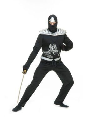Ninja Avenger Series Ii Adult Black