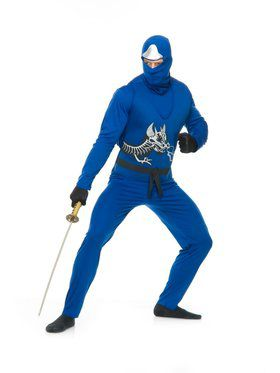 Ninja Avenger Series Ii Adult Blue