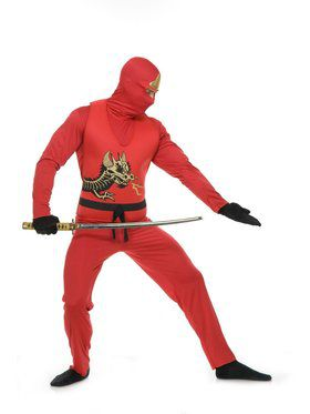 Ninja Avenger Series Ii Adult Red