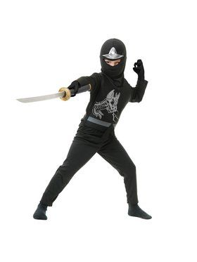 Ninja Avenger Series Ii Child Black