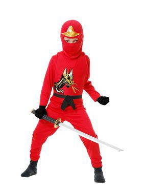 Ninja Avenger Series Ii Child Red