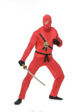 Ninja Avengers Series I Adult Red