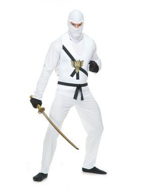 Ninja Avengers Series I Adult White