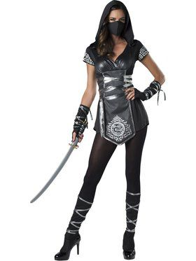 Women's Ninja Warrioress Costume