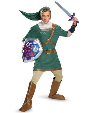 Nintendo's The Legend Of Zelda Link Prestige Men's Costume