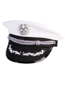 Officers Hat - White