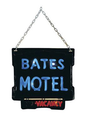 Official Bates Motel Sign