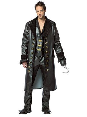 Captain Hook Costume Ideas