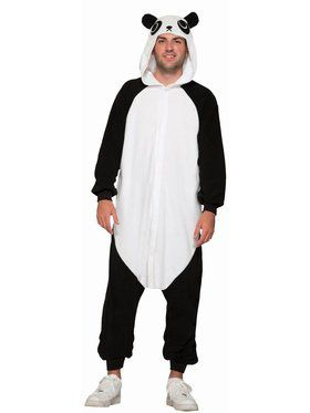 One - Piece Panda - Standard Adult Costume