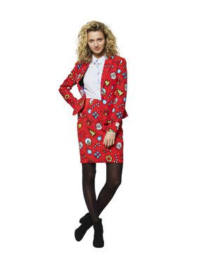 OppoSuits Dashing Decorator Women's Suit