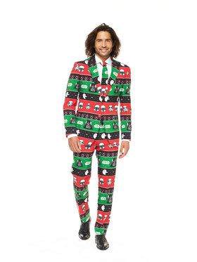 OppoSuits Festive Force Men's Suit and Tie Set