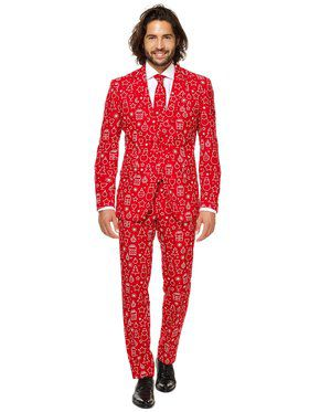 OppoSuits Iconicool Men's Suit and Tie Set