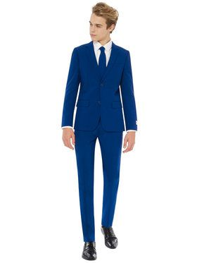 OppoSuits Navy Royale Teen Boy's Suit and Tie Set