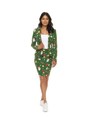 OppoSuits SantaBabe Women's Suit