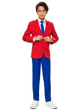 Teen's Spiderman Opposuit's Suit and Tie