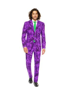 Men's The Joker Opposuit's Suit and Tie