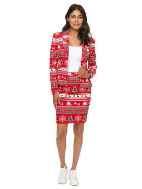 OppoSuits Winter Woman Women's Suit