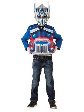Optimus Prime Transforming Flip & Reveal Costume Top