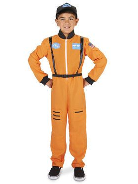 Orange Astronaut Child Costume