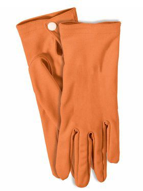 Orange Short Gloves