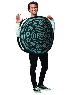 Oreo Cookie Costume Adult Costume