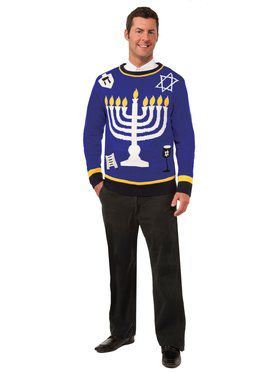 Outrageous Chanukah Sweater