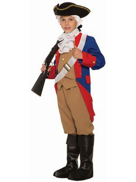 Patriotic Soldier Child Costume