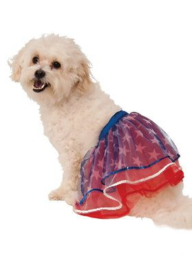 Patriotic Tutu Costume for Pet