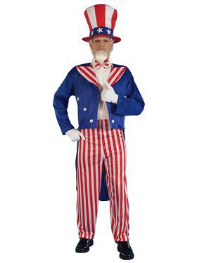 Men's Patriotic Uncle Sam Costume