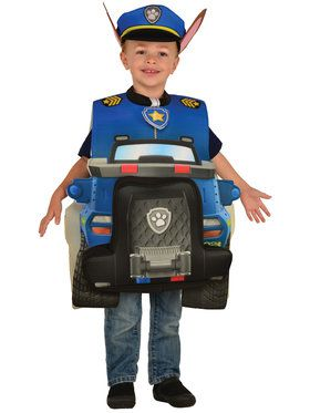 Paw Patrol Chase Deluxe Costume For Toddlers