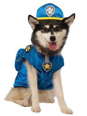 Paw Patrol Pet Chase Costume Small