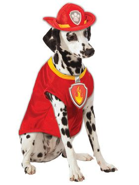 Paw Patrol Pet Marshall Costume Small