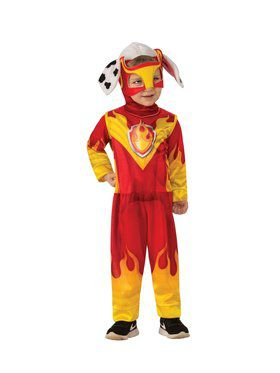 Paw Patrol Mighty Pups Marshall Child Costume