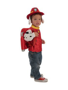 Paw Patrol Deluxe Marshall Costume Hat for Toddlers