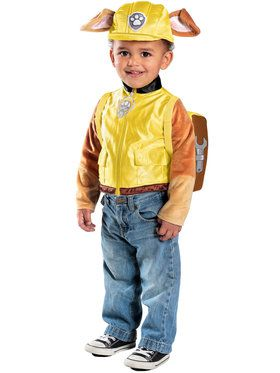 Paw Patrol Toddler Boys Deluxe Rubble C