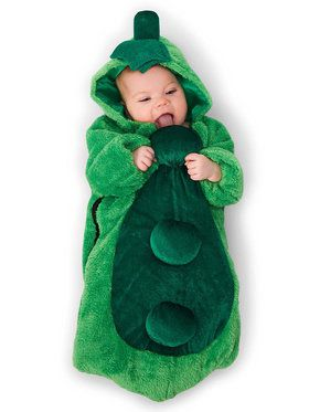 Pea in the Pod Infant Bunting Costume