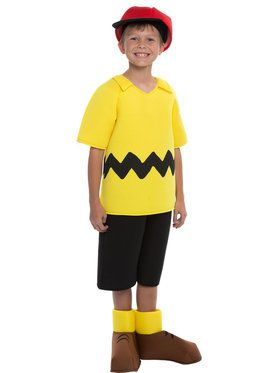 Peanuts: Deluxe Charlie Brown Kids Costume