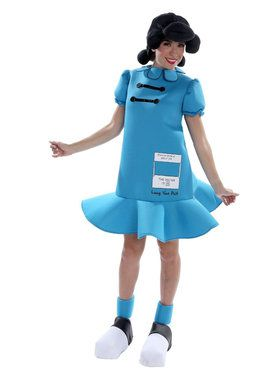 Peanuts: Lucy Deluxe Costume for Adults