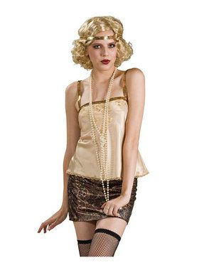"60"" Pearl Beads Flapper Accessory"
