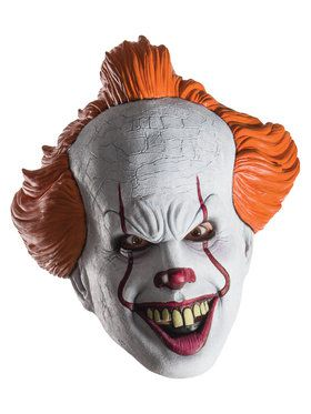 Pennywise 3/4 Costume 2018 Halloween Masks for Adults