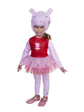 Child's Peppa Pig Ballerina Costume