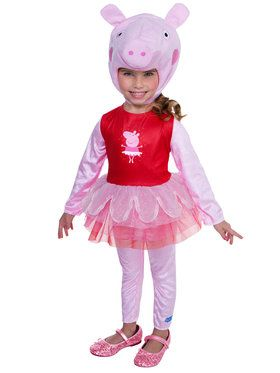 Deluxe Toddler's Peppa Pig Tutu Costume