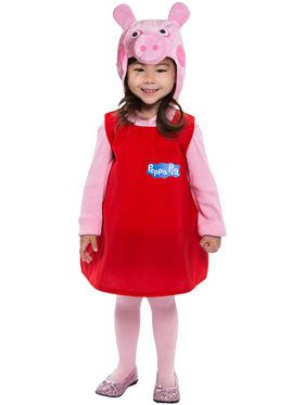 Toddler's Peppa Pig Dress Costume