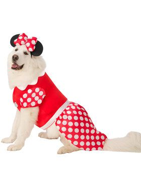 Pet Big Dogs Minnie Mouse Costume