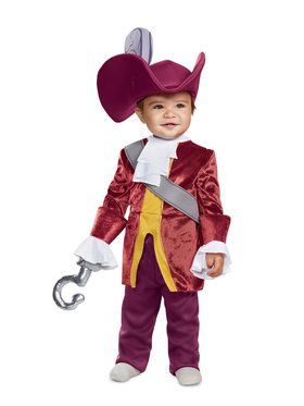 Peter Pan Captain Hook Classic Infant Costume