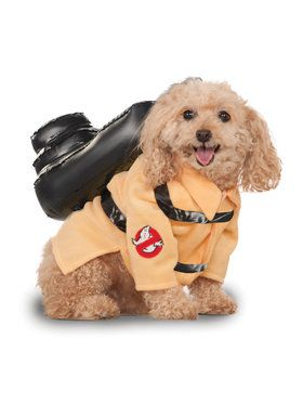 Dog Ghostbusters Jumpsuit Costume