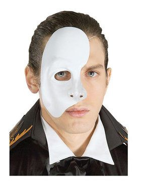 Phantom Of The Opera 1/2 Mask